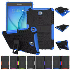 Case for Samsung Galaxy Tab 3 4 A E S2 Tablet Defender Hybrid Stand Rubber Cover