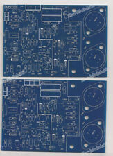 One Pair Gold Sealed QUAD405 CLONE Amplifier Board PCB MJ15024 (2 Channel)