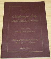 Souvenir Of The Edithburgh Jetty 125th Anniversary 1873-1998 By Jarrod Thompson