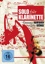 DVD * SOLO FÜR KLARINETTE | GÖTZ GEORGE , CORINNA HARFOUCH # NEU OVP §