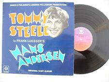 TOMMY STEELE LP HANS ANDERSON pye 18451 EX+..... 33rpm