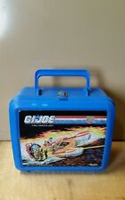 old vintage 1988 G.I.Joe lunch box with thermos