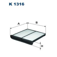 Filter Innenraumluft - Filtron K1316