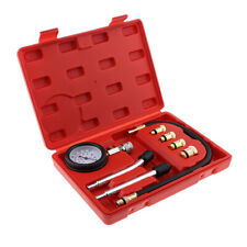Spark Plug Cylinder Compression Tester Test Kit Professional Gas Engine Set