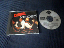 CD Boogie Down Productions - Criminal Minded KRS-One RAP 15-2 Germany B-Boy