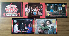 Doctor Who Cornerstone Series 4 Full Set of 5 Promotional Trading Cards Rare IT6