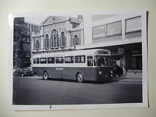 ENG1946 - 1960s RED ROVER OMNIBUS Co Ltd - BUS PHOTO