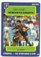 Newcastle Knights 1990 Rugby League (NRL) Trading Cards