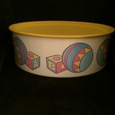NEW Vintage Tupperware Babies Special Things Snack Storage Canister