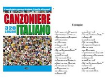 CANZONIERE ITALIANO 320 CANZONI IL MEGLIO DELLA CANZONE ITALIANA TESTI E ACCORDI