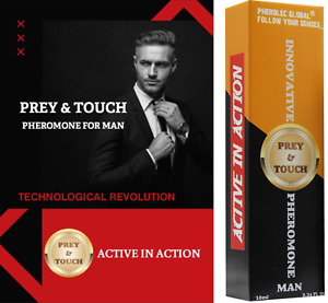 Prey&Touch Pheromone Perfume for Men 10ml Pheromone Oil Very Strong Attract