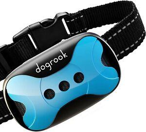 Rechargeable Bark Collar - Humane, No Shock Training Vibration & Sound Care Mode