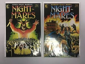 Nightmares set from:#1-2 all 2 different books 8.0 VF (1985) Eclipse