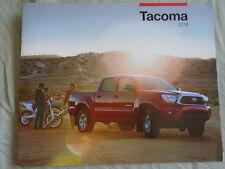 Toyota Tacoma range brochure 2014 USA market