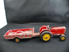 Dinky Toys GB 27A Massey Harris tractor tracteur avec remorque 320 Halesowen