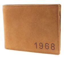 ESPRIT Bourse Doug Small Leather Wallet Camel