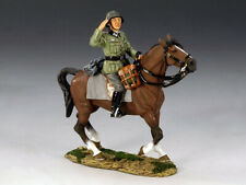 KING & COUNTRY FOB056 Wehrmacht Mounted Officer  Set  RETIRED