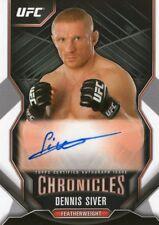 2015 Topps UFC Chronicles DENNIS SIVER Auto Autograph MMA Card No CA-DSI