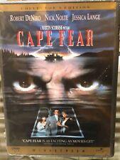 Cape Fear (DVD) 2-Disc Set! Collector's Edition! Martin Scorsese, BRAND NEW!