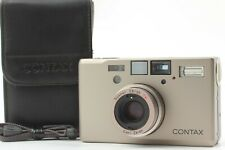 [TOP MINT Double Teeth] Contax T3 Silver Case Strap Film Camera From Japan 48