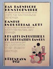 Danish industrial arts catalogue 1932 Rud Rasmussen Georg Jensen Poul Henningsen