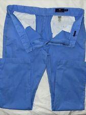 Vineyard Vines 38 X 32 Mens OCEAN BREEZE BLUE Breaker Flat Front Pants
