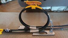 Hot Wheels Daredevil Stunt Set Bucle Auto Moto Velocidad Pista conjunto de juguete Carreras Mega