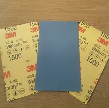 3M - WET AND DRY SANDPAPER MICRO FINE  P1500 x 3 Sheets