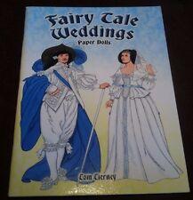 UNCUT Tom Tierney Fairy Tale Weddings Paper Dolls