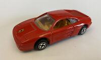 1996 Hotwheels Ferrari 348 Corgi Cast Red, Very Rare!
