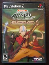 Avatar: The Last Airbender -- The Burning Earth (Sony PlayStation 2, 2007) PS2