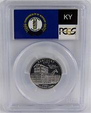 2001-S SILVER PROOF KENTUCKY STATE QUARTER PCGS PR70DCAM