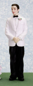 Dolls house figure 1/12th scale poly/resin Groom