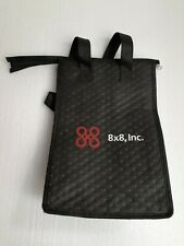 8x8 Corp Old Logo Lunch Bag Reusable Thermal Insulated Vintage Advertising EGHT