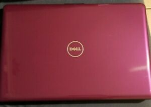 Dell Inspiron 1750 laptop 17' Purple Used (factory reset).