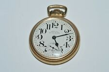 Vintage 1952 Hamilton Railway Special 21 Jewel Pocket Watch 10K Gold Filled 992B