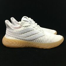 NEW! adidas Originals Sobakov BB7666 White/Gum Brown Mens Shoes