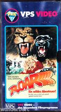 VHS -- ROAR ... ein wildes Abenteuer -- (1981) - Tippi Hedren - GLASBOX VPS