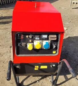 Mosa 6000 Sx Super Silent  Diesel Generator Dual Voltage