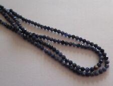 1 Strang Natural Rubin facettiert Perlen Kugeln 3mm zur Schmuckherstellung