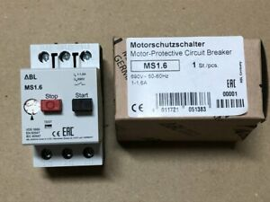 ABL SURSUM Motorschutzschalter MS1.6 , Auslösebereich 1,0-1,6A