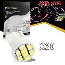 20pc White T10 194 LED Bulb for Instrument Cluster Indicator for Ford F-series