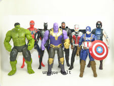 8 pcs Avengers: Endgame  Action figures Iron Man Ant-Man Thanos Thor Hulk Toy
