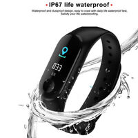 Smart Band Watch Bracelet Wristband Fitness Tracker Blood Pressure Heart Rate