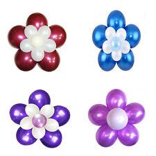 10*Pinces articles de décoration salle de mariage fleur de prunier Multicolore