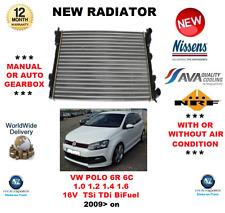 Per VW Polo 6R 6C 1.0 1.2 1.4 1.6 16V TSI TDI BiFuel 2009 > RADIATORE OE Quality