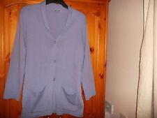Women's Hip Length Button Wool Blend Medium Knit Jumpers & Cardigans