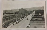 Vintage Old Photo Postcard of Wenatchee Washington Main St Chelan County 1950's
