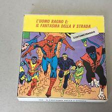 vintage#UOMO RAGNO FILM SUPER 8 COLORE Eurofilm IL FANTASMA DELLA V STRADA