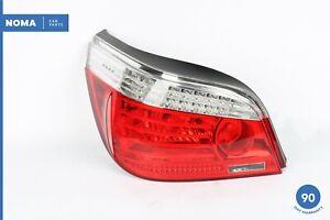 04-10 BMW 550i E60 5 Series Rear Left Side Tail Brake Light Lamp 7361881 OEM